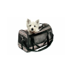 Sac de transport English Style pour chiens Taille S