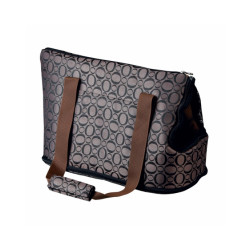 Sac de transport Georgia en nylon bronze et noir Friends On Tour