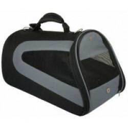 Sac de transport Profile Noir et Gris pour Chat et Chien Jusqu'à 6 kg