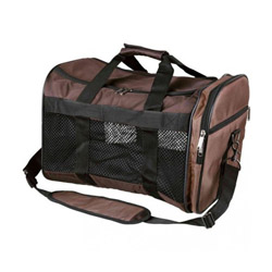 Sac de transport Samira Trixie en nylon Marron/beige