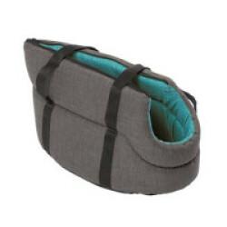 Sac de transport Stone pour petit chien turquoise