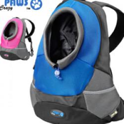 Sac kangourou Paws pour petit chien et chat Maria Large Gris/Bleu