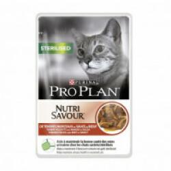 Sachets pour chat stérilisé Pro Plan bœuf 26 sachets 85 g