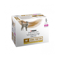 Sachets Pro Plan Veterinary Diet NF Renal Function pour chats Poulet 10 sachets 85 g