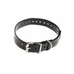 Sangle noire pour collier de dressage et anti-aboiement Canicom grand chien 73 cm