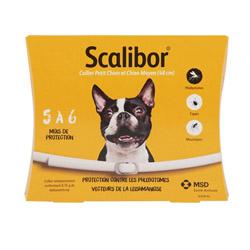 Collier Scalibor anti-tiques pour petit moyen chien 48 cm à l'unité