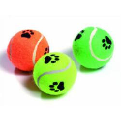 Set de 3 balles de tennis avec motifs Flamingo pour chiens