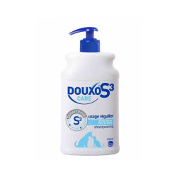 Shampoing entretien démêlant Douxo S3 Care pour chien et chat Flacon de 500 ml