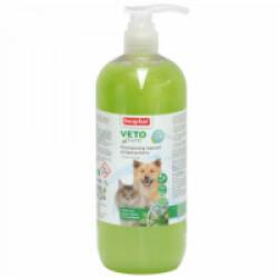 Shampoing insectifuge Véto Pure Beaphar pour chien et chat 1 L