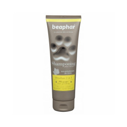 Shampoing naturel démêlant 2en1 Beaphar 250 ml