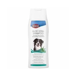 Shampoing Peaux Sensibles à l'aloe vera pour chiens Trixie