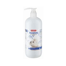 Shampoing pour chien pour pelage blanc Beaphar 1 litre