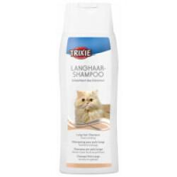 Shampoing spécial poil long pour chat Trixie flacon de 250 ml