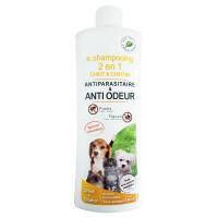 Shampooing antiparasitaire 2 en 1 pour chiot et chaton flacon 250 ml