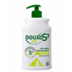 Shampooing Douxo S3 Séborrhée pour chien et chat Flacon 500 ml