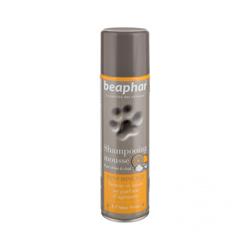 Shampooing mousse sans rinçage pour chien et chat Beaphar 250 ml