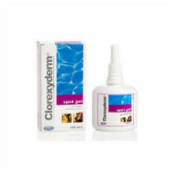 Shampooing traitant Clorexiderm Gel flacon 100 ml