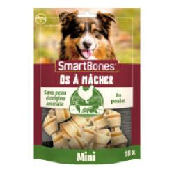 SmartBones Mini os à mâcher au poulet pour chiens de petite taille - 18 pièces