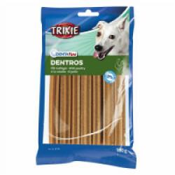Snacks à la volaille Dentros pour chiens Denta Fun