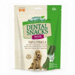 Snacks dentaires Nutri Dent pour chiens - x7 snacks Taille M (chiens de 15 à 23 kg)