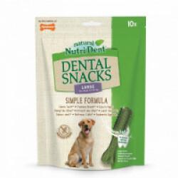 Snacks dentaires Nutri Dent pour chiens - x10 snacks Taille L (chiens de 24 à 32 kg)