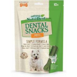 Snacks dentaires Nutri Dent pour chiens - x10 snacks Taille S (chiens de 8 à 14 kg)