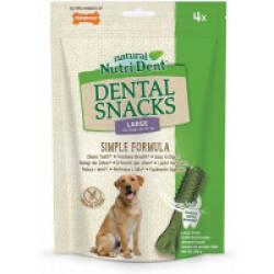 Snacks dentaires Nutri Dent pour chiens - x4 snacks Taille L (chiens de 24 à 32 kg)