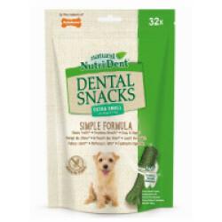 Snacks dentaires Nutri Dent pour chiens - x32 snacks Taille XS (chiens < 7 kg)