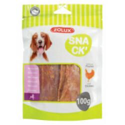 Snacks filets de poulet pour chien 100 g