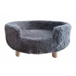 Sofa doux pour chat et petit chien - Coloris Gris