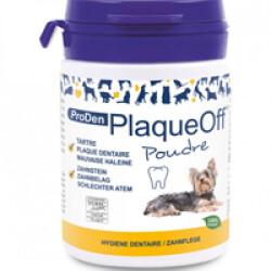 Soin dentaire PlaqueOff Proden en poudre pour chien et chat