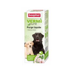 Solution de purge aux plantes pour chien Vermipure 50 ml