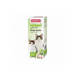 Solution de purge Vetonature aux plantes pour chat Beaphar flacon de 50 ml