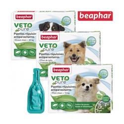 Spot On Véto-Nature insectifuge pour chien moins 15 kg (3 pipettes 1 ml)