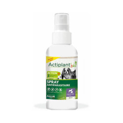 Spray anti parasitaires chien et chat Actiplant'3 - 100 ml