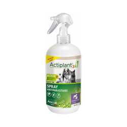 Spray anti parasitaires chien et chat Actiplant'3 - 250 ml