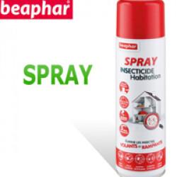 Spray insecticide habitation pour élevage animaux