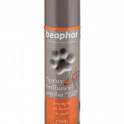 Spray lustreur brillance au jojoba Beaphar pour chien et chat 250 ml