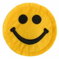 Squeaker sonore de poche pour chien Smiley diam 8.5 cm