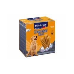 Sticks dentaires pour chiens de + de 10 kg Multipack Dental 3 en 1 - lot de 4 * 7 sticks