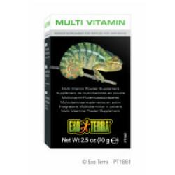 Supplément multi vitamine en poudre pour reptile Exo Terra 70 g