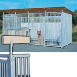 Support de toiture pour panneaux de chenil Pro la pièce