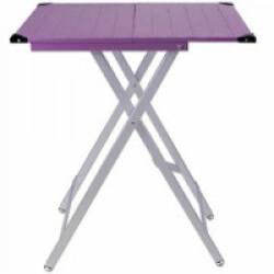 Table d'exposition pliante ultra-légère lilas