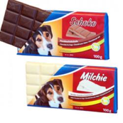 Tablette de chocolat Schoko pour chien 100 g