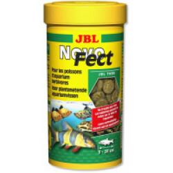Tablettes Novo Fect JBL pour poissons herbivores 100 ml