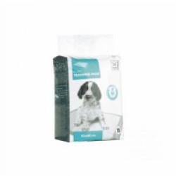 Tapis éducateur blanc pour chiot 45 cm x 60 cm M-Pets Lot de 15 tapis