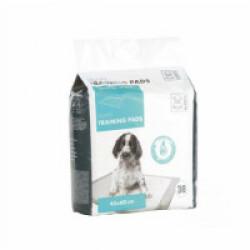Tapis éducateur blanc pour chiot 45 cm x 60 cm M-Pets Lot de 30 tapis
