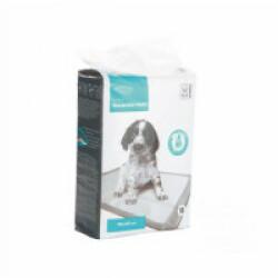 Tapis éducateur blanc pour chiot 90 cm x 60 cm M-Pets Lot de 15 tapis