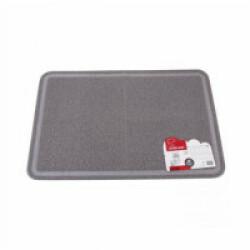 Tapis de litière rectangulaire pour chat M-Pets 60 cm x 89 cm gris