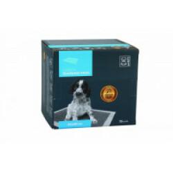Tapis éducateur gris en carbone pour chiot 45 cm x 60 cm M-Pets - Lot de 25